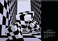 3 Dimensionen - 2 Farben (Wandkalender 2019 DIN A3 quer) - Produktdetailbild 12