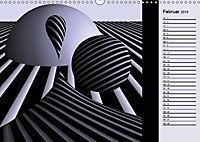 3 Dimensionen - 2 Farben (Wandkalender 2019 DIN A3 quer) - Produktdetailbild 6