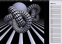 3 Dimensionen - 2 Farben (Wandkalender 2019 DIN A3 quer) - Produktdetailbild 9