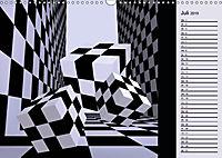3 Dimensionen - 2 Farben (Wandkalender 2019 DIN A3 quer) - Produktdetailbild 13