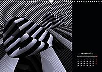 3 Dimensionen - 2 Farben (Wandkalender 2019 DIN A3 quer) - Produktdetailbild 11