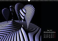 3 Dimensionen - 2 Farben (Wandkalender 2019 DIN A3 quer) - Produktdetailbild 3