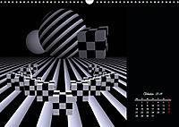 3 Dimensionen - 2 Farben (Wandkalender 2019 DIN A3 quer) - Produktdetailbild 10