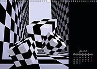 3 Dimensionen - 2 Farben (Wandkalender 2019 DIN A3 quer) - Produktdetailbild 7