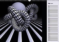 3 Dimensionen - 2 Farben (Wandkalender 2019 DIN A3 quer) - Produktdetailbild 5