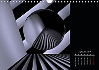 3 Dimensionen - 2 Farben (Wandkalender 2019 DIN A4 quer) - Produktdetailbild 9