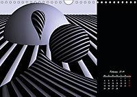 3 Dimensionen - 2 Farben (Wandkalender 2019 DIN A4 quer) - Produktdetailbild 2