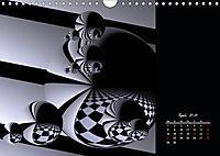 3 Dimensionen - 2 Farben (Wandkalender 2019 DIN A4 quer) - Produktdetailbild 4