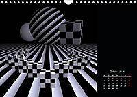 3 Dimensionen - 2 Farben (Wandkalender 2019 DIN A4 quer) - Produktdetailbild 10