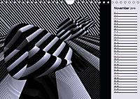 3 Dimensionen - 2 Farben (Wandkalender 2019 DIN A4 quer) - Produktdetailbild 11
