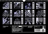 3 Dimensionen - 2 Farben (Wandkalender 2019 DIN A4 quer) - Produktdetailbild 13