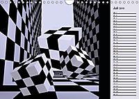 3 Dimensionen - 2 Farben (Wandkalender 2019 DIN A4 quer) - Produktdetailbild 7