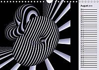 3 Dimensionen - 2 Farben (Wandkalender 2019 DIN A4 quer) - Produktdetailbild 8