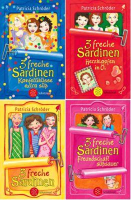 3 freche Sardinen, 4 Bde. - Patricia Schröder |