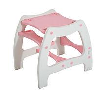 3 in 1 Kinderhochstuhl mit Schaukel (Farbe: rosa) - Produktdetailbild 9