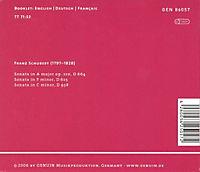 3 Klaviersonaten D 664, 625, 958 - Produktdetailbild 1
