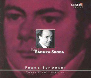 3 Klaviersonaten D 664, 625, 958, Paul Badura-Skoda