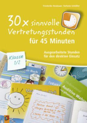 30x sinnvolle Vertretungsstunden für 45 Minuten - Klasse 1/2