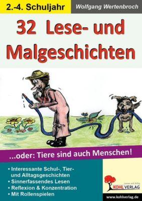 32 Lese- & Malgeschichten, Wolfgang Wertenbroch