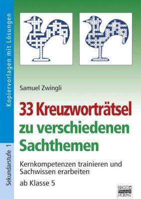 33 Kreuzworträtsel zu verschiedenen Sachthemen, Samuel Zwingli