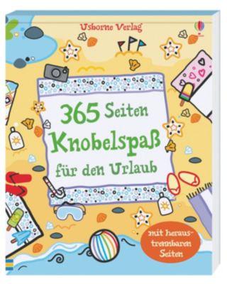 365 Seiten Knobelspass für den Urlaub, Phillip Clarke