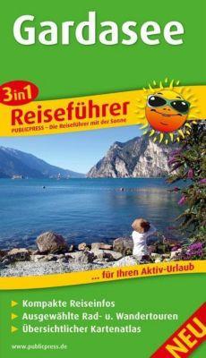 3in1-Reiseführer Gardasee, Silke Hertel, Sandra Fischer, Timon Oberheide