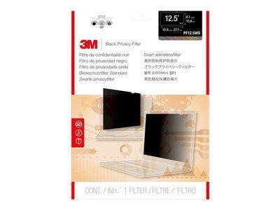 3M PF12.5W9 Blickschutzfilter Standard passend fuer Notebooks 31,8 cm Weit (entspricht 12,5 ZollWeit) 16:9