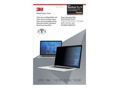 3M PFMR15 Blickschutzfilter Standard für Apple  MacBook  Pro 38,1cm 15Zoll Retina display