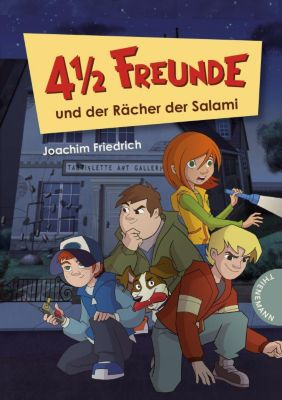 4 1/2 Freunde Band 21: 4 1/2 Freunde und der Rächer der Salami, Joachim Friedrich