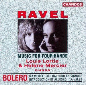 4 - Händige-Klaviermusik, Louis Lortie, Helene Mercier