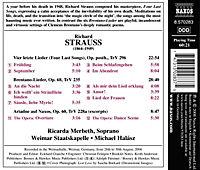 4 Last Songs/Brentano Lieder/+ - Produktdetailbild 1