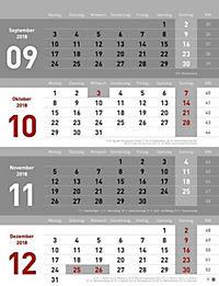 4-Monats-Planer 2019 - Produktdetailbild 1