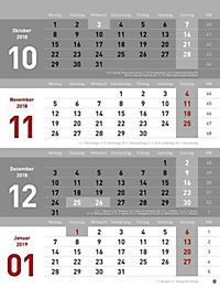 4-Monats-Planer 2019 - Produktdetailbild 2