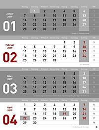 4-Monats-Planer 2019 - Produktdetailbild 5