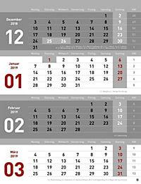 4-Monats-Planer 2019 - Produktdetailbild 4