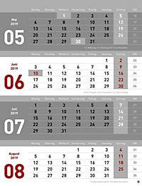 4-Monats-Planer 2019 - Produktdetailbild 9