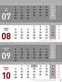 4-Monats-Planer 2019 - Produktdetailbild 11