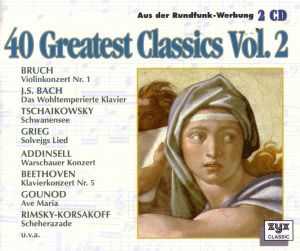 40 Greatest Classics Vol.2, Diverse Interpreten