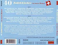 40 Jodel-Lieder Us Eusere Heimat - Produktdetailbild 1