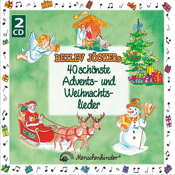 Moderne Weihnachtslieder Kindergarten.40 Schönste Advents Weihnachtslieder Von Detlev Jöcker Weltbild De