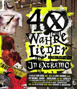 40 wahre Lieder (Limited Loreley Fanbox, 2 CDs + 2 Blu-rays), In Extremo