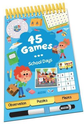 45 Games... School Days!