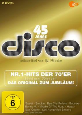 45 Jahre Disco - Die Nr.1-Hits der 70er Das Original zum Jubiläum, 2 DVDs | weltbild.de