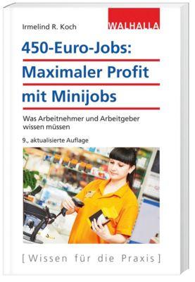 450-Euro-Jobs: Maximaler Profit mit Minijobs - Irmelind R. Koch  