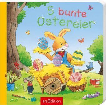 5 bunte Ostereier, Mini-Ausgabe, Sabine Cuno