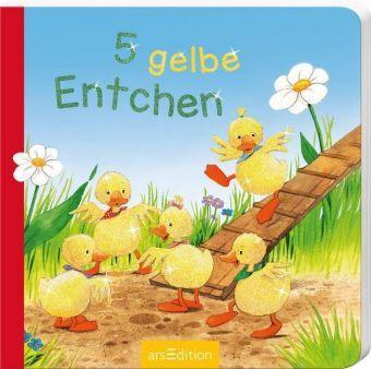 5 gelbe Entchen, Mini-Ausgabe, Sabine Cuno