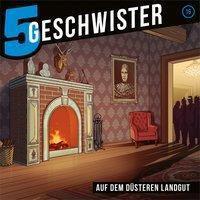 5 Geschwister - Auf dem düsteren Landgut, Audio-CD, Tobias Schuffenhauer, Tobias Schier