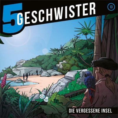 5 Geschwister - Die vergessene Insel, Audio-CD, Tobias Schuffenhauer, Tobias Schier
