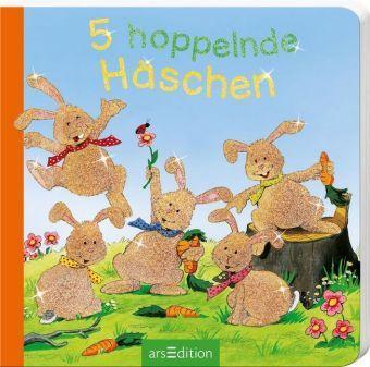 5 hoppelnde Häschen, Mini-Ausgabe, Sabine Cuno