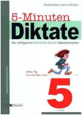 5-Minuten-Diktate: 5. Schuljahr, Karin Pfeiffer